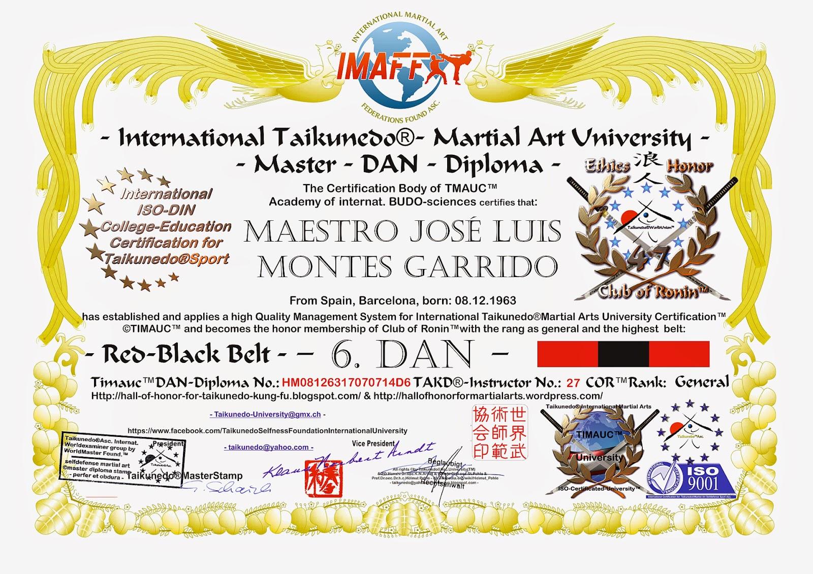 Hero Master Jose Luis Montes Uwama