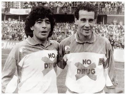 Julio+ALBERTO+&+Diego+Maradona+-+No+Drug