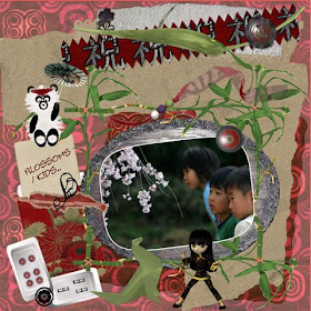 page 3 some kids / blossoms.