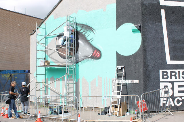 Upfest 2015 Bristol Bedminster Southville street art graffiti festial My Dog Sighs