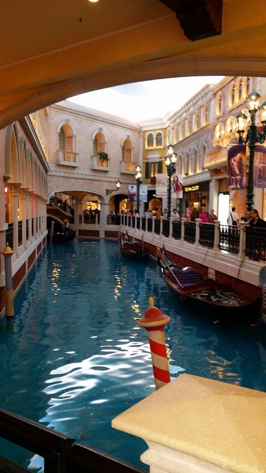Canal at Venetian Casino and Hotel