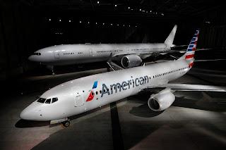 b737-800 american airlines, b777-300 american airlines, american airlines new scheme, american airlines