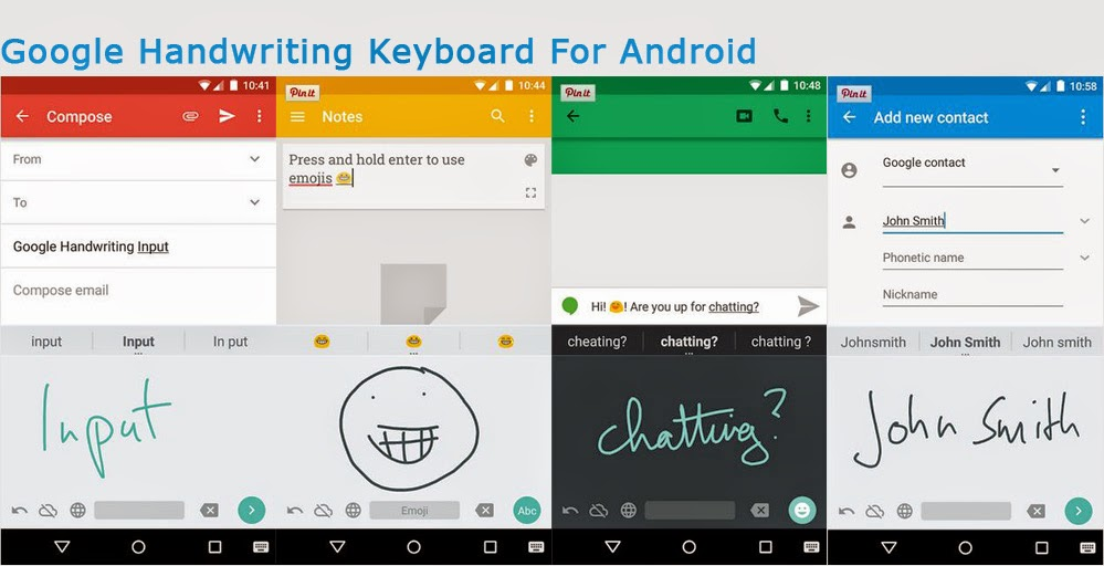 Handwriting Input keyboard For Android