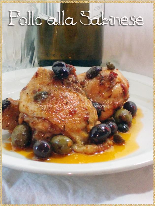 Pollo alla Sabinese