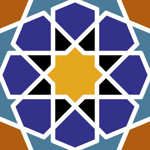 Patrón Islámico vectorial