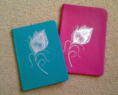 Little Red Designs Peacock Feather Kindle Covers