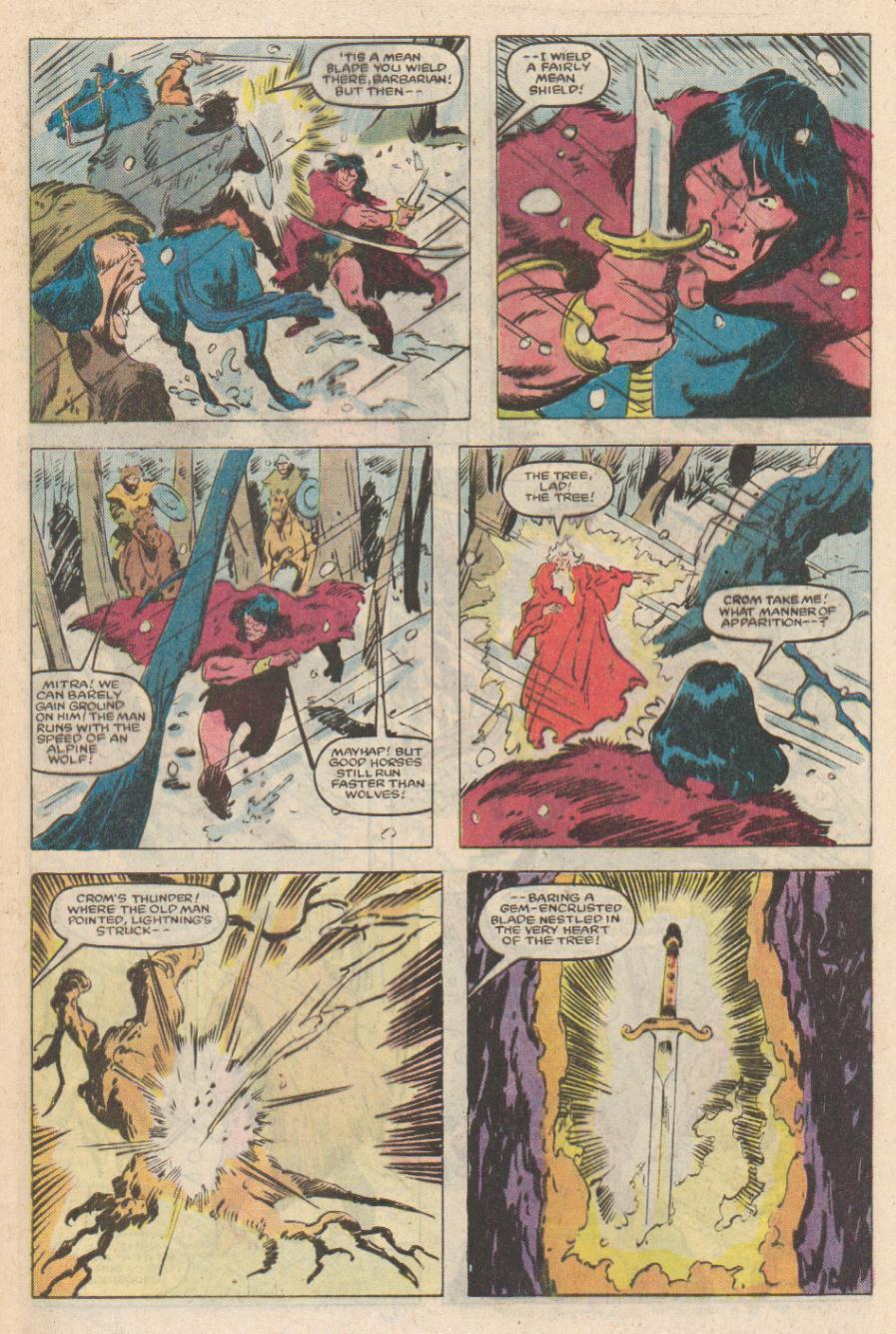 Conan the Barbarian (1970) Issue #169 #181 - English 4