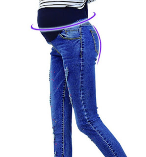 Celana jeans yang nyaman untuk wanita hamil