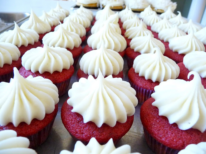 Red Velvet Cupcakes (Minis) ~ Recipe #2 (The Winner)