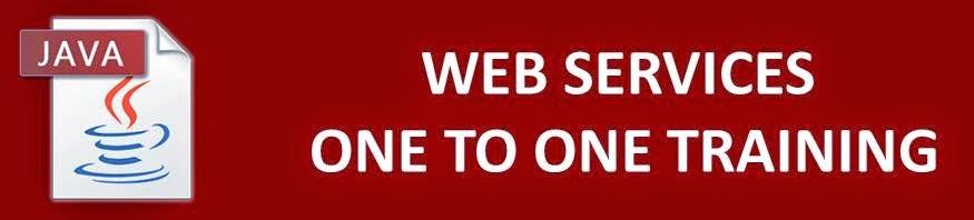 web service training in velachery