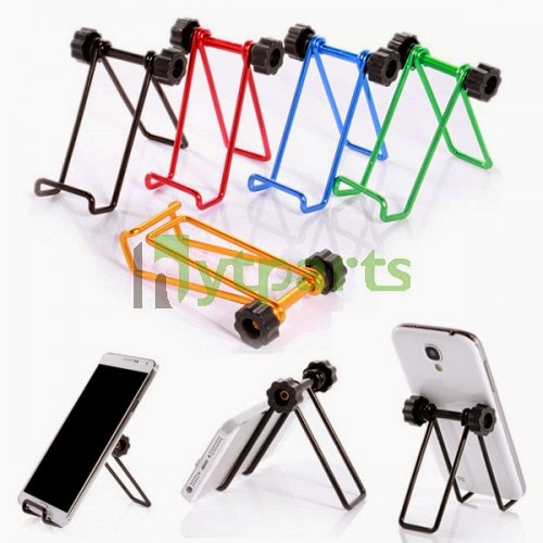 Universal cell phone holder stand with ring Metal Adjustable