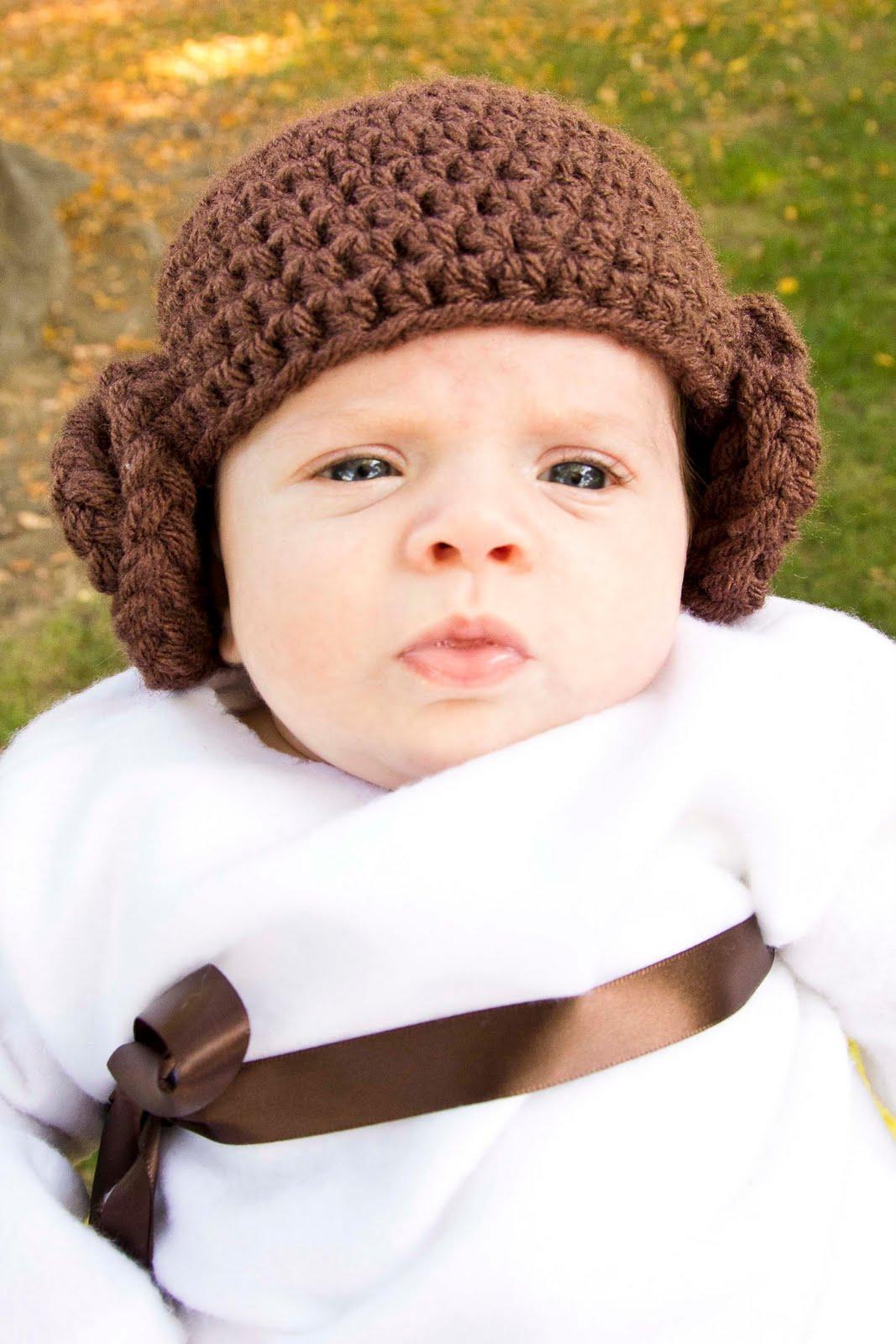 All Things Belle: Princess Leia - Crochet Beanie Mini Tutorial