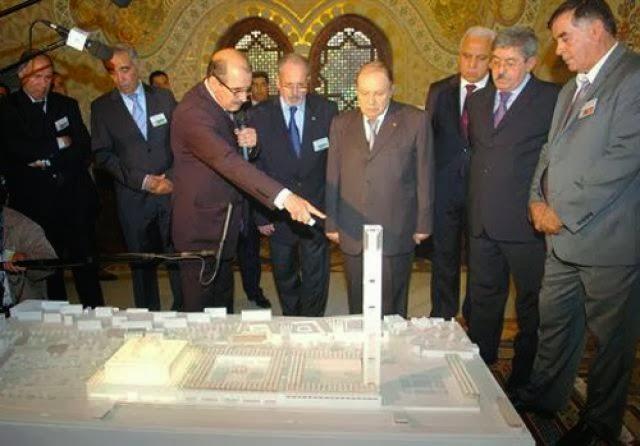 مشروع جامع الجزائر الأعظم: إعطاء إشارة إنطلاق أشغال الإنجاز - صفحة 2 +لخضر+علوي+رفقة+الرئيس+بوتفليقة