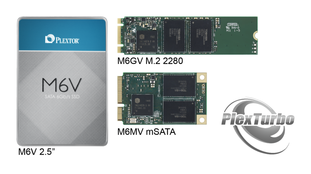 PlexTurbo and M6V series SSDs