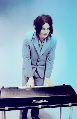 jack white playing organ