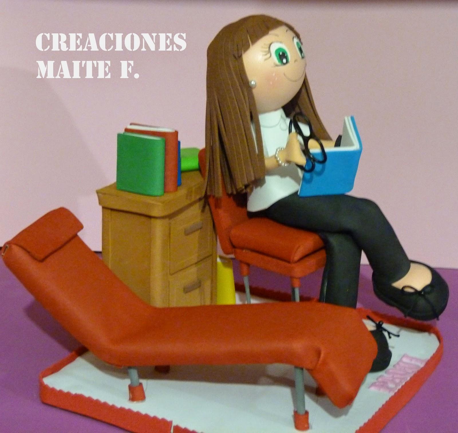 Fofuchas manualidades y creaciones maite fofucha medico for Que es divan en psicologia