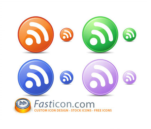 circle feed icons 100+ Amazing Free RSS Feed Icons Set Download