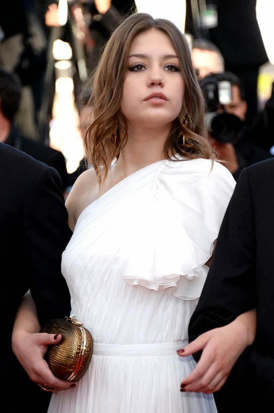 Adele Exarchopoulos Tattoo Meaning Adele exarchopoulos (blue is