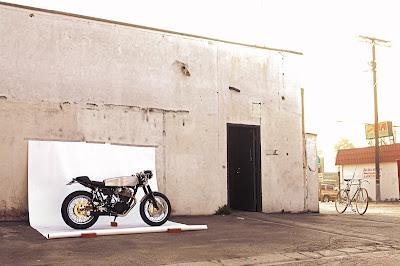 YAMAHA SR500 CAFE RACER bY Deus Ex Machina