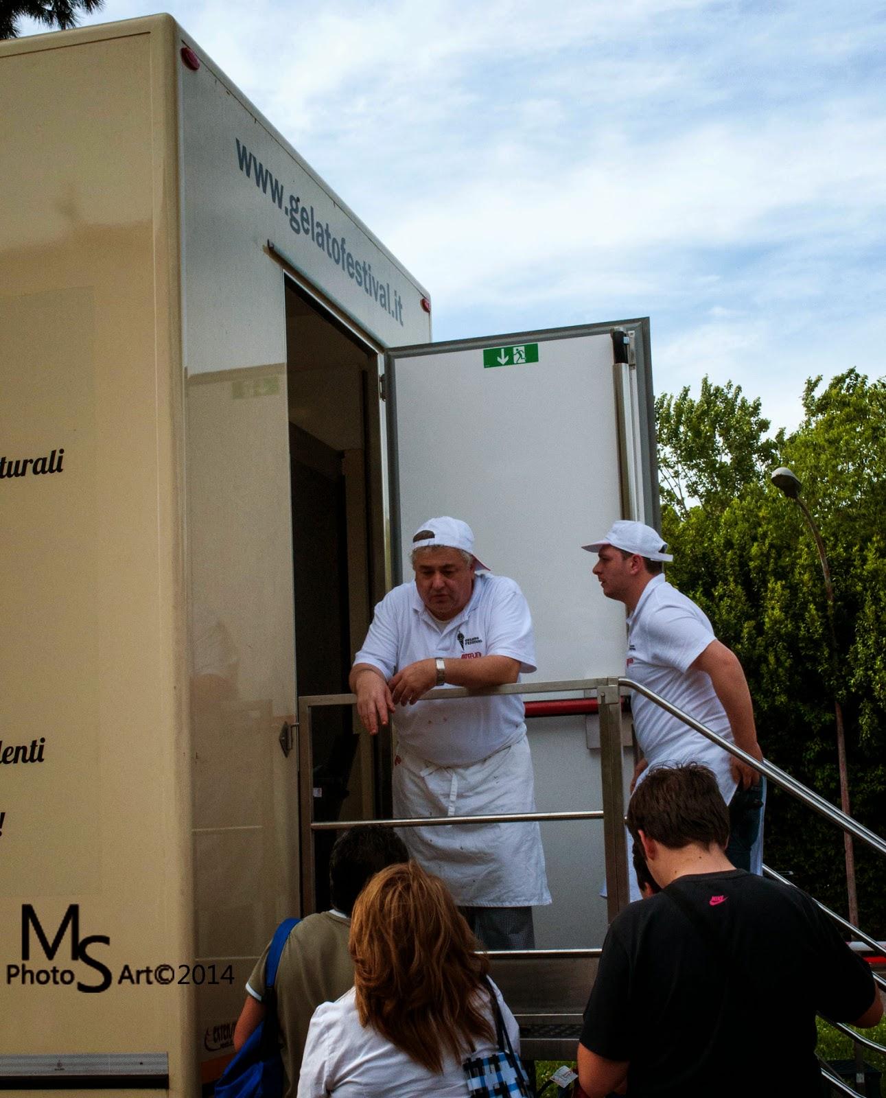 tony caffarelli gelato festival roma 2014 eni