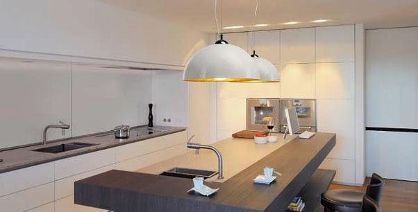 Iluminacion Barra Cocina. Departamento 80 m2 en PB, Narvarte - YouTube