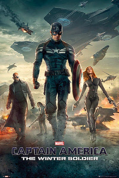 Poster Capitán América 2 Winter Soldier