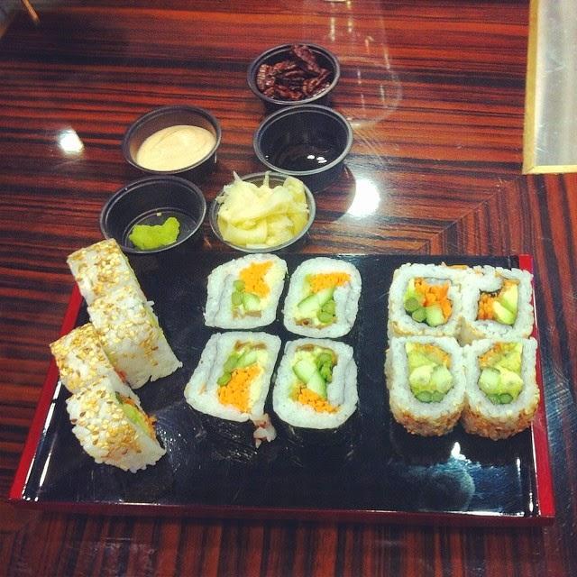 אושי אושי: סושי צמחוני