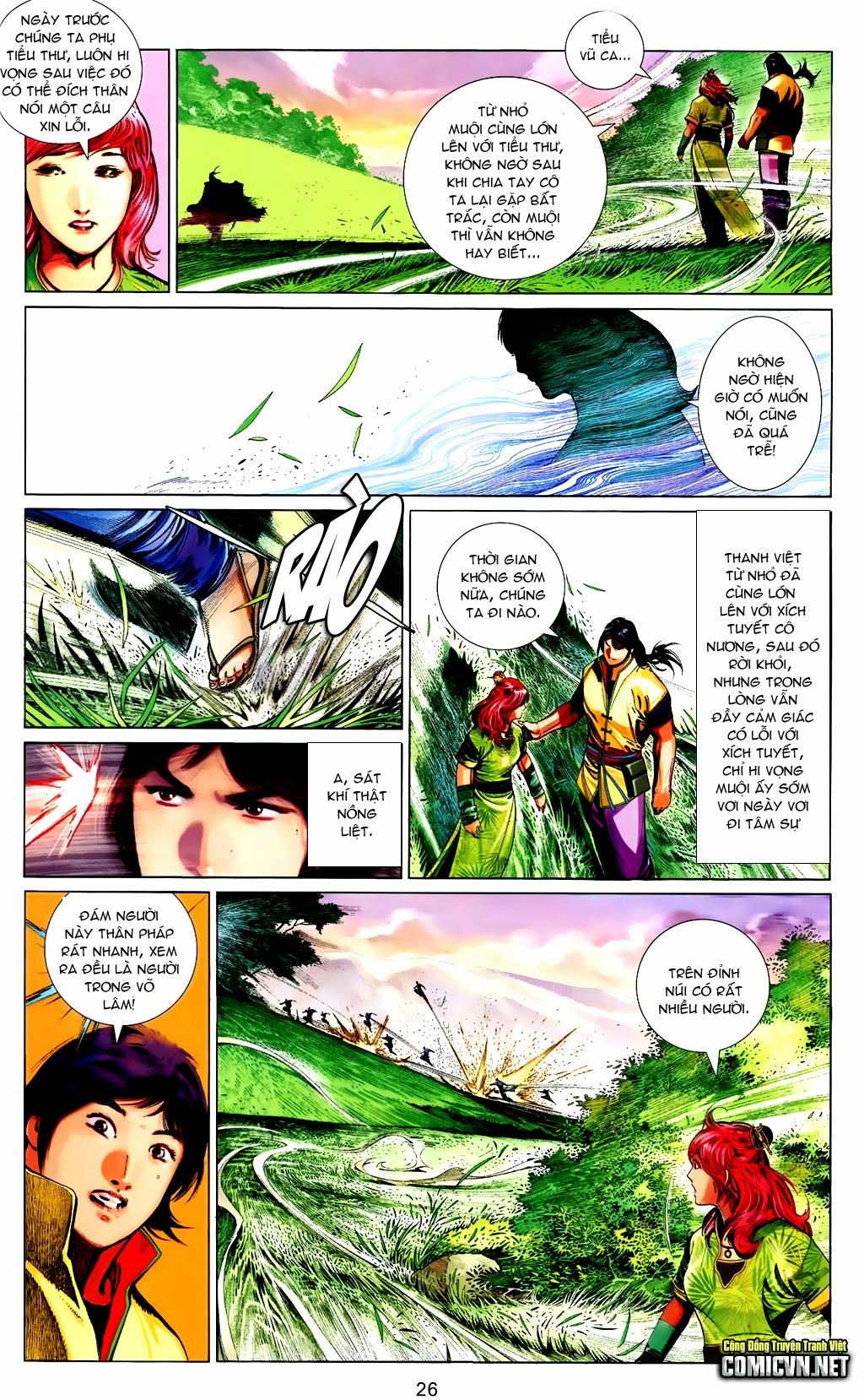 Phong Vân Chap 663 - Trang 26