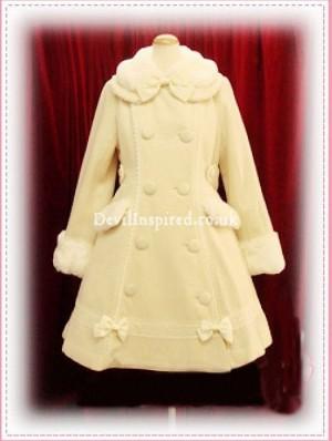 Winter Sweet Bow Lolita Wool Coat