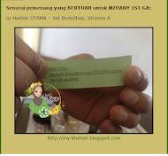 Hadiah Utama Mzhany 1st GA
