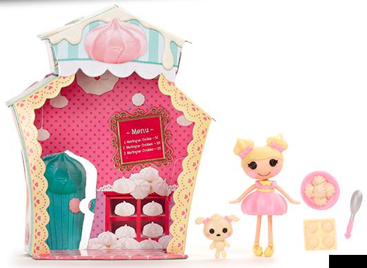 Cute Lalaloopsy Dolls: Dollop Light 'N' Fluffy Mini Doll Lalaloopsy Dollop Light N Fluffy