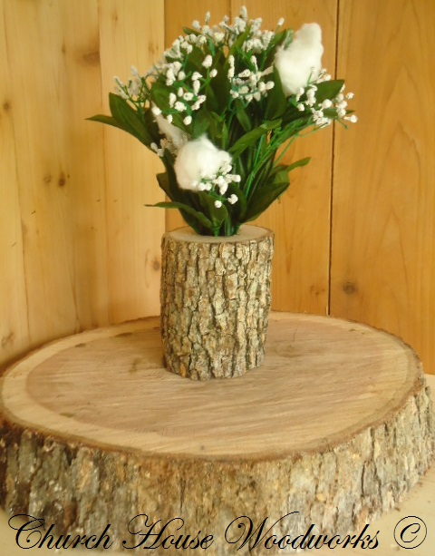 Rustic weddings wedding centerpieces tree