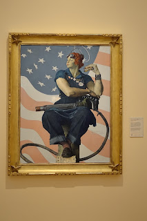 Rosie the Riveter by Norman Rockwell at Crystal Bridges