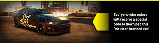 Rockstar Mustang GT 500