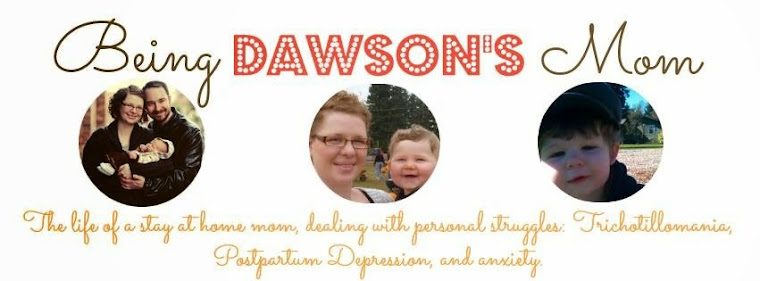 Being Dawson's Mom: Parenthood with Trichotillomania, Postpartum Depression, and Anxiety.