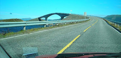 Yes, make it now.: The road to nowhere! Norwegian bridge gives