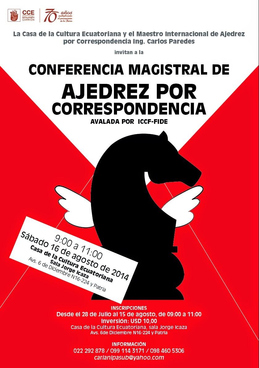 Conferencia Magistral de Ajedrez Por Correspondencia