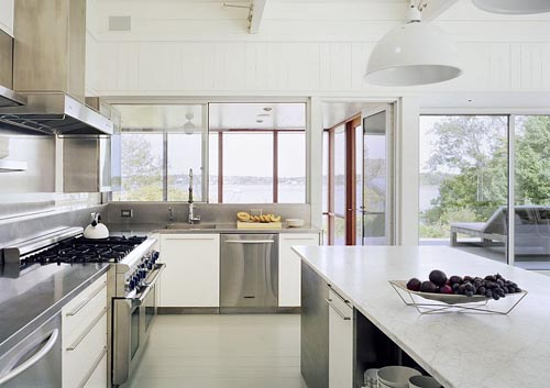 Interior style lake house in new york enter your blog for New home kitchen ideas