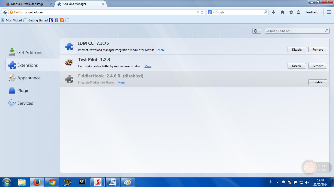 Add Ons IDM CC 7.3.75 for Mozilla Firefox 26, 27, 28, 29 ...