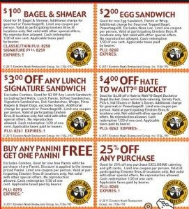 einstein bros printable coupons