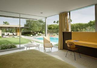 Projecto de arquitectura da Casa Kaufmann - Califórnia