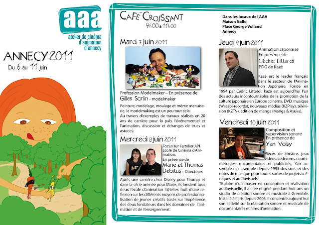 Programme AAA du festival 2011