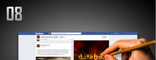 Dafabet Facebook - Best Interactive Sports Promo and Games.