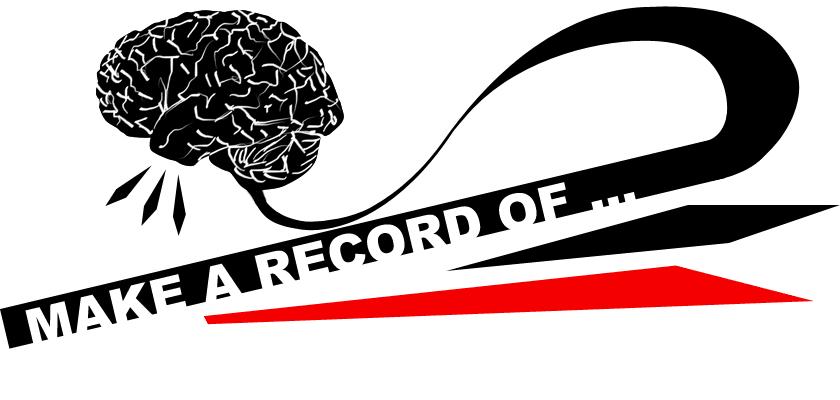 make a record of…