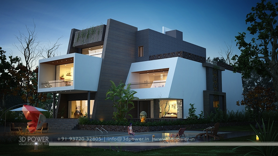 Ultra modern home designs home designs 3d exterior home for Exterior 3d design