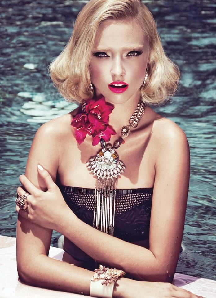 Trendsfor 2014 Polish Models Editorial Marcelina Sowa For Elle Vietnam May 2012