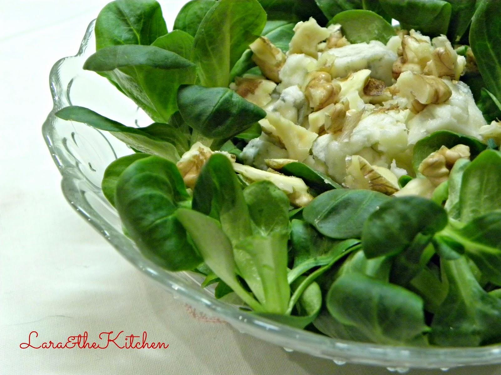 Insalate di soncino e noci e gorgonzola cotto e postato for Soncino insalata