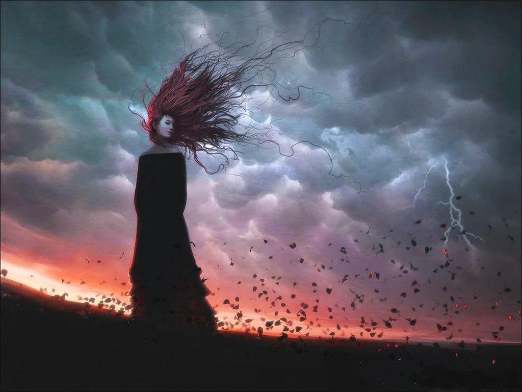 Um jeito manso num dia de tempestade ao som da madame for Carla bruni le ciel dans une chambre
