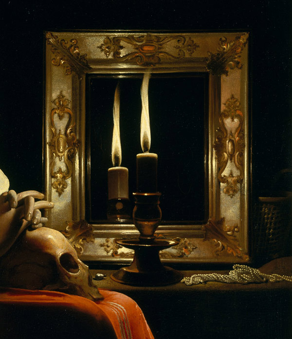 Bbb restauration d 39 un tableau de ma tre pas pas for Venus au miroir