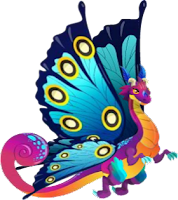 imagen del dragon mariposa